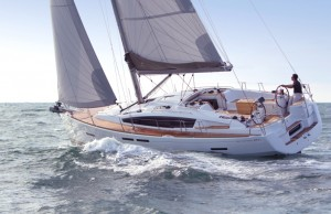 41DS - Stern to upwind
