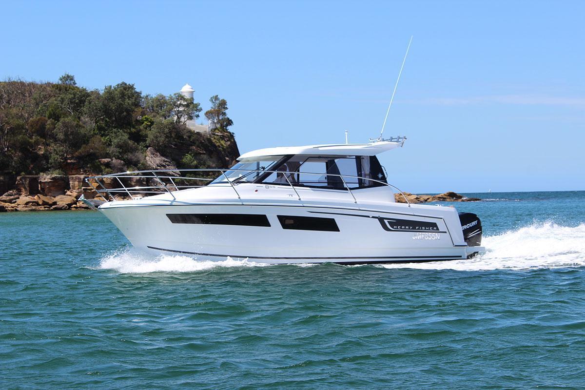 855MF boat