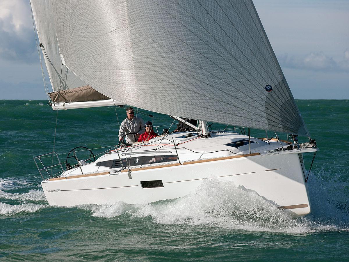 Sun Odyssey 349 wins Cruising World's 'Pocket Cruiser' of the Year