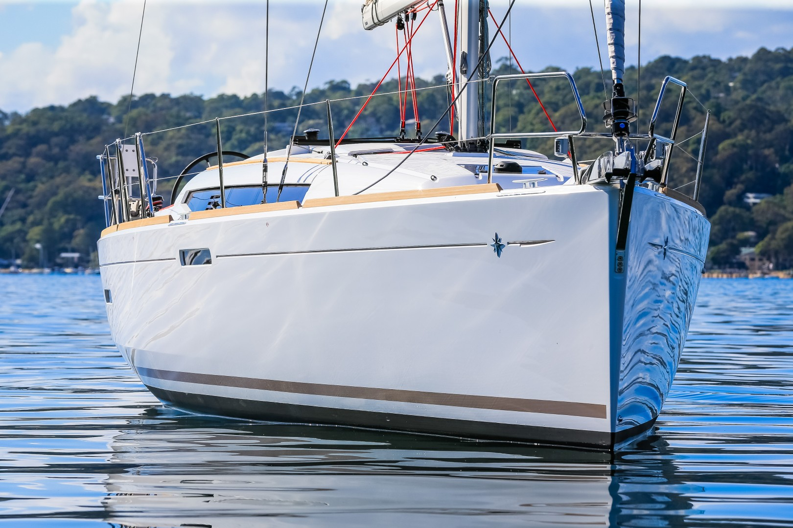 Jeanneau 389. Picture Craig Greenhill/ Saltwater Images