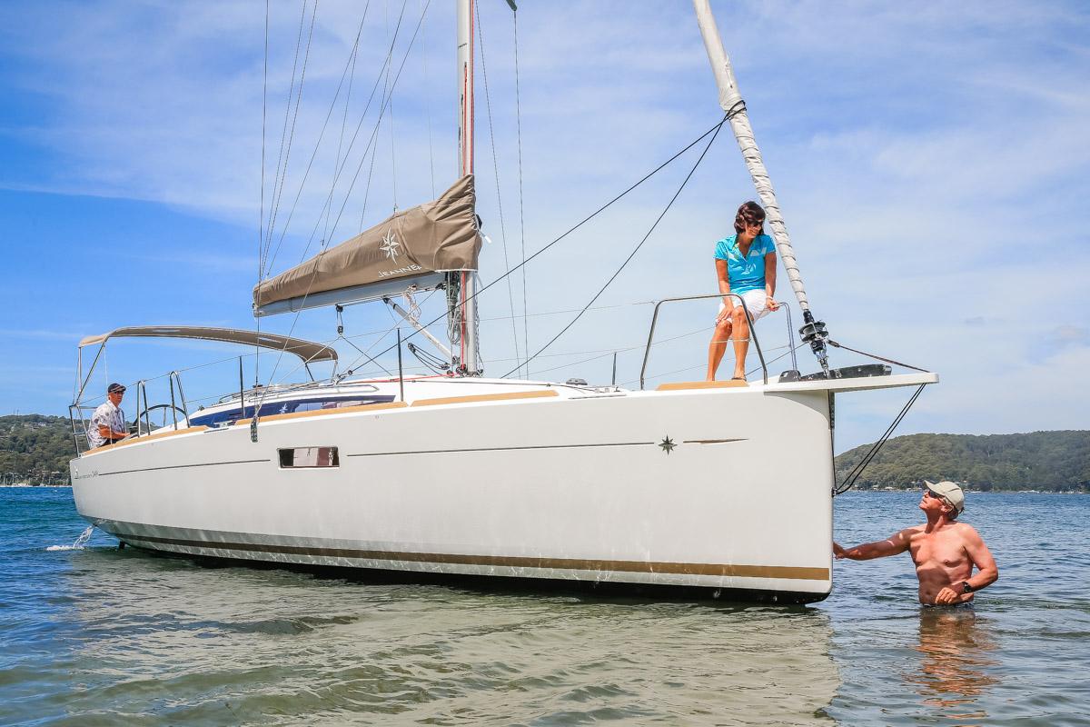 Sun Odyssey 349 swing keel: