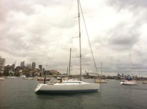 Starboard exterior