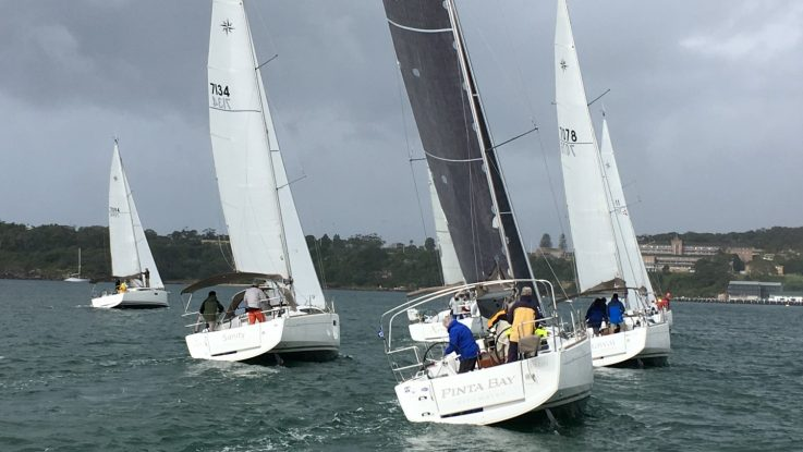 Jeanneau Cup Race 2 – Saturday January the 19th: