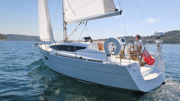 First Jeanneau Sun Odyssey 319 is now here:
