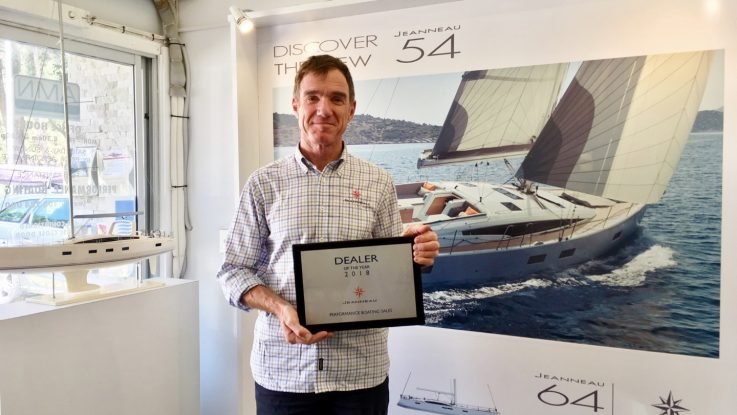 Performance Boating Jeanneau Dealer of the Year!