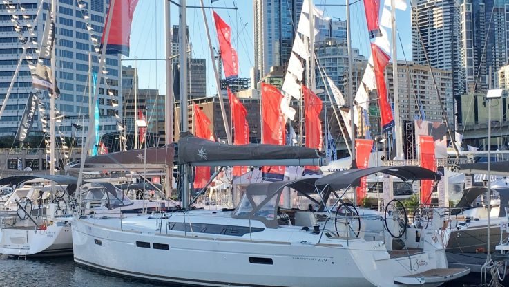 Sydney International Boat Show display and offers: