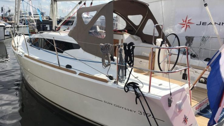PBS sells the first Sun Odyssey 319 to Australia: