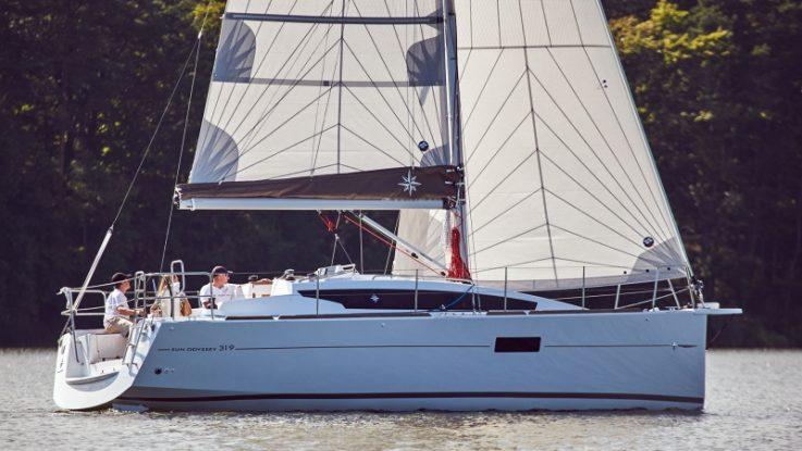 Sun Odyssey 319 first arrival: