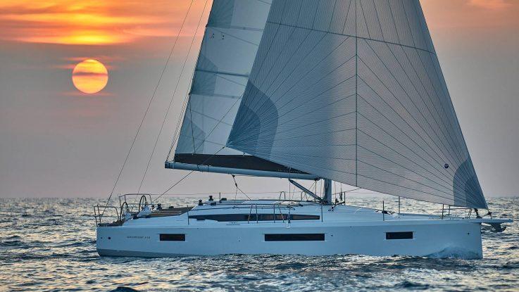 Sun Odyssey 410 share offers: