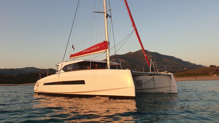 Cruise the Med' this European summer on your new Aventura 44 Catamaran: