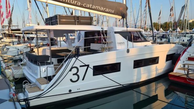 Aventura 37 debut at Cannes Yachting Festival