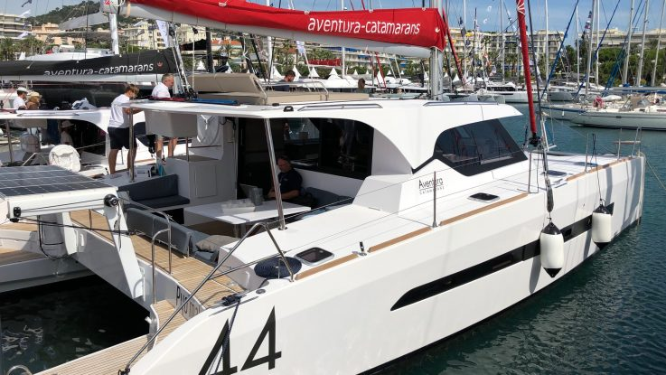Aventura Catamarans at the Cannes Yachting Festival: