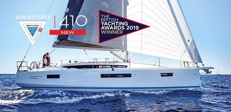 2019 BYA Winner: Jeanneau Sun Odyssey 410:
