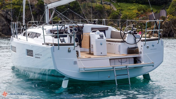 The Genius of the new Jeanneau Sun Odyssey 410: