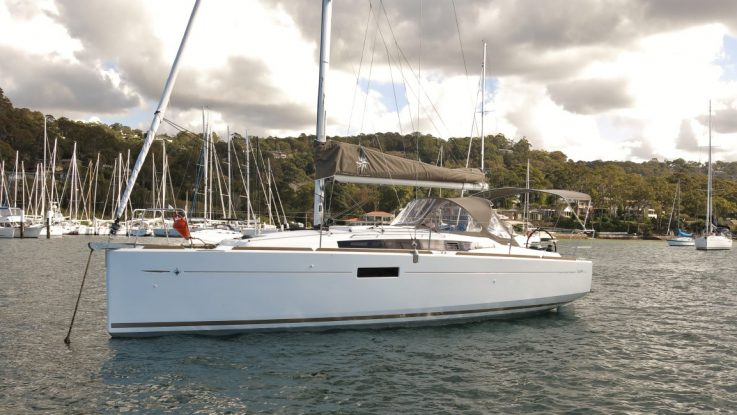 New Sun Odyssey 349 Eastern Suburbs syndicate: